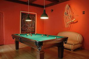 Pool Room Designer Interior