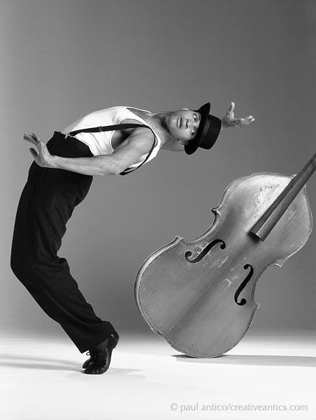 Pat Taylor's JazzAntiqua Dance and Music Ensemble Dancer Charles Zacharie